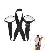 Adjustable Snowboard Backpack Ski Pole Shoulder Belt Hand Carrier Compac... - $6.99