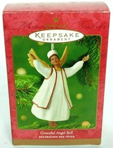 Hallmark Keepsake Christmas Ornament Graceful Angel Bell 2001 - $19.80
