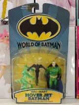 HASBRO VINTAGE DC WORLD OF BATMAN HOVER JET BATMAN - $34.64