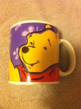 Applause Winnie The Pooh Coffee MUG-BOTHER Free Is The Way To BE-FREE SHIP--VGC - $17.18