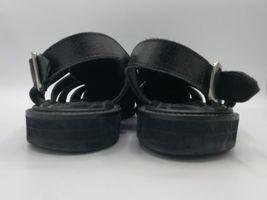 Sz Black Sandals Leather Men's Allen 7 5 Barbados Edmonds E Fisherman wPqxA0FH