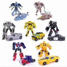 Transformers Toys Car Optimus Prime Action Figure For Children 7pcs/lot  - $18.06