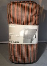 """Ikea of Sweden Venny Design Barbro Petersson 57"""" x 87"""" Brown Striped Tab... - €32,01 EUR"""