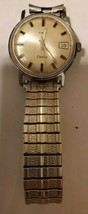 TIMEX ELECTRIC VINTAGE MEN'S WATCH band needs link new battery - $39.59