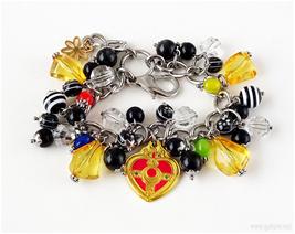 Cosmic Heart Charm Bracelet, Sailor Moon, Cosplay - $43.00