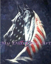 5D DIY My Diamond Art (American Horse) Diamond Painting Kit (NEW) - $18.49+