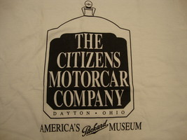 Vintage Packard The Citizens Car Company Dayton Ohio Museum T Shirt M - $17.81