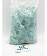5 LB WeJe 17-22 mm Mosaic Glass Gems Marbles, Vase Fill Etc. - FROST LIG... - $25.69