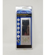 Vextra 6-in-1 Universal Remote w/ Backlit Touch Panel - New - $10.99