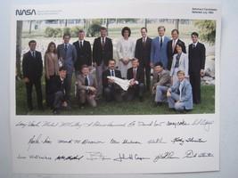 nasa astronaut candidates 10x8 litho glossy print photo JULY 1984 (17 pi... - $13.83