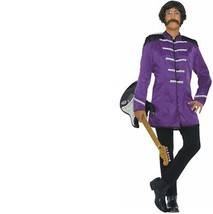 Costume - Adult - British Explosion Purple - Size Standard - Beatles Sgt... - $24.89