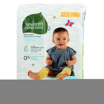 Seventh Generation Free and Clear Baby Diapers - Stage 2 - Case of 4 - 3... - $88.78