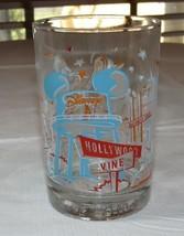 Walt Disney Disneyland Disney World Disney Studios Hollywood and Vine Glass - $29.92