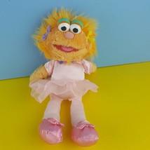 Gund Sesame Street Zoe Plush Ballerina Stuffed Doll 2006 Pink Monster 46212 - $20.79