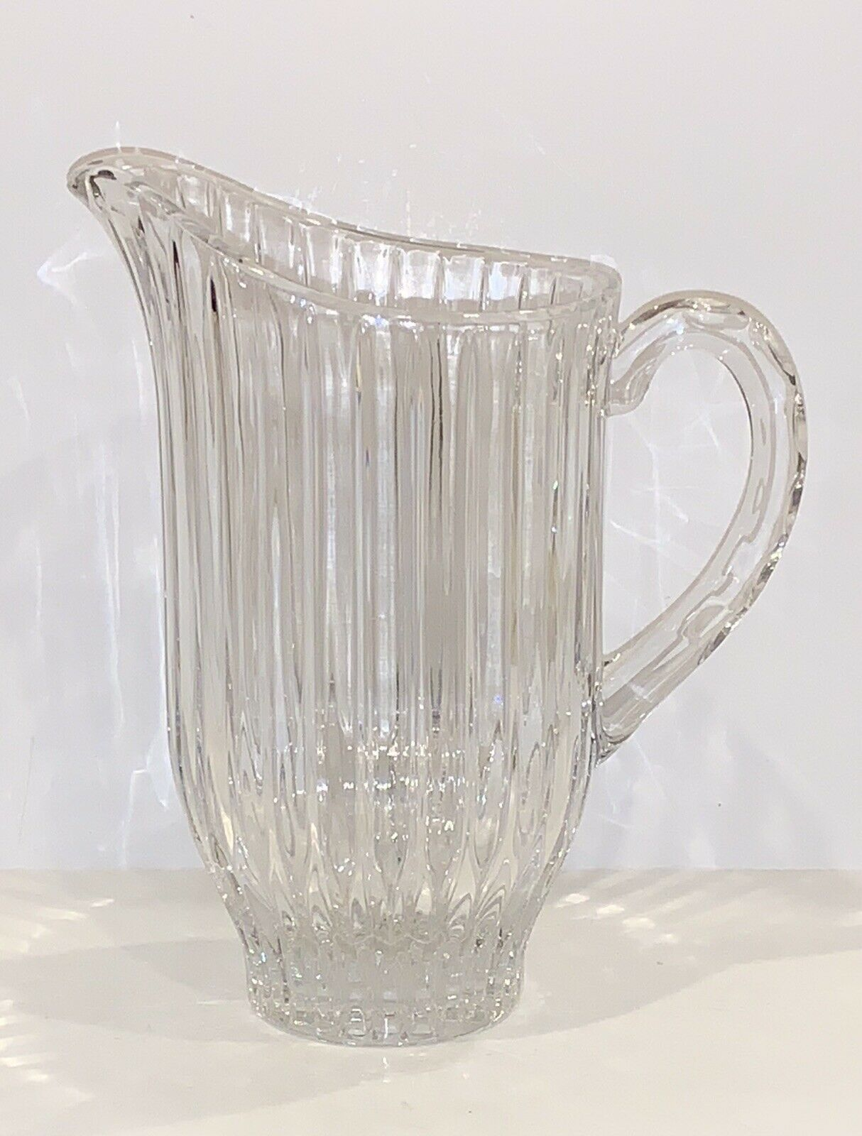Primary image for STUNNING MIKASA CRYSTAL PARK AVENUE 40 OUNCE PITCHER