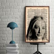Celebrity Art Prints-Cate Blanchett Art Print-Movie Prints-Cate Blanchet... - $11.82
