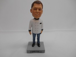 CHEF ZAPPITELLI BOBBLEHEAD DOLL NODDER Famous Celebrity Cleveland Ohio - $49.49