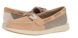 Sperry Oasis LOFT Sparkle Womens Fashion-Sneakers STS82447_11 - Linen - $62.52 CAD