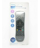 PHILIPS Universal Remote Control, Audio/Video 3 device Black SRP9232D/27 - $9.87