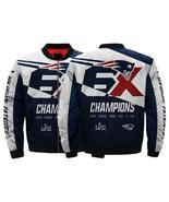 Hot new england patriots jacket for sale fullprint six time super bowl champion thumbtall
