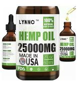 New Hemp Oil for Anxiety Relief 25000MG Premium Seed Grade Natural Exp 1... - $14.99