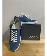 Ecco Soft 7 Sneaker Retro Blue Size 7-7.5US Womens (38EU) - $45.00