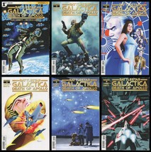 Battlestar Galactica Death of Apollo Full Comic Set 1-2-3-4-5-6 Lot Cylo... - $40.00