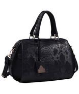 Vegan Leather Snakeskin Tote Fashion Handbag Shoulder bag Purse - $29.99
