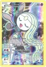 Pokemon TCG Mythical Meloetta XY120 FULL ART Black Star HOLO Promo NEAR ... - $2.99
