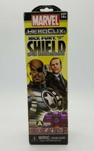 Marvel HeroClix Nick Fury Agent of S.H.I.E.L.D. Booster Pack Feat. Build... - $14.73