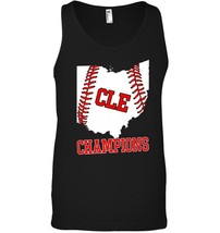 CLE State of Ohio Baseball Outline Champions Tank Top - $23.99+