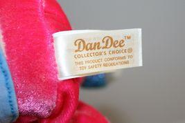 "Dan Dee Plush DOLL 9"" Girl Friend Blonde Yarn Pigtails Brown Hair Stuffed Soft image 6"