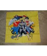 Batgirl Wonder Woman Supergirl Bandana 100% Cotton 22 x 22 Female Empowe... - $24.99