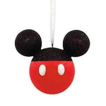 Hallmark Mickey Mouse Glitter Ears Christmas Ornament - $15.72