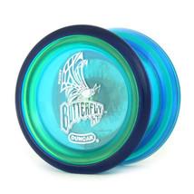 Duncan Butterfly XT Clear Blue Yo Yo Original PLUS 3 FREE NEON STRINGS - $7.99