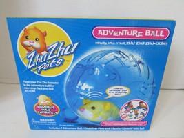 Zhu Zhu Pets Hamster Adventure Ball New In Box Rock & Roll Blue Final Sale - $3.91