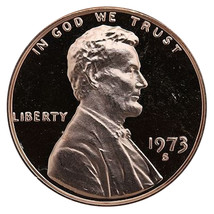 1973-S Lincoln Memorial Cent Penny Gem Proof US Mint Coin Uncirculated UNC - $7.99