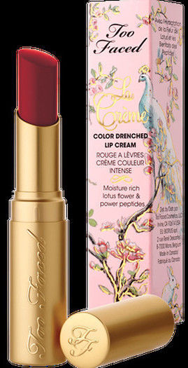 Primary image for Too Faced La Creme Color Drenched Lipstick Moisture Rich 90201hhh .11 oz NIB