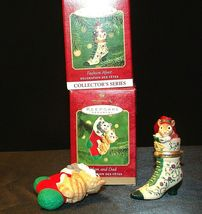 Hallmark Keepsake Ornaments Fashion Afoot & Mom & Dad Stocking AA-191792E Colle image 4