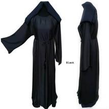 Latest Design Women Black Abaya With Inner Slip - $54.54+