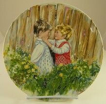 Be My Friend Wedgwood Collector Plate by Mary Vickers England 1981 - $18.13
