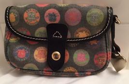 Dooney Bourke Handbag Mini Purse Pochette Wallet Pink Heart Back To School - $37.38