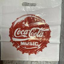 Coca Cola Coke Music Buvez Marques Deposees Plastic Bag - $15.83