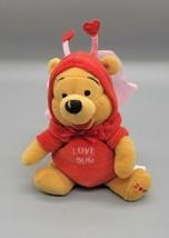 "walt disney winnie the pooh ""firefly pooh"" plush 2000 love bug stuffed a... - $8.40"