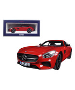 2015 Mercedes AMG GT Red 1/18 Diecast Model Car by Norev 183496 - $149.93