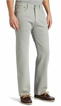 NEW LEVI'S 501 MEN'S ORIGINAL FIT STRAIGHT LEG JEANS BUTTON FLY GRAY 501-1213