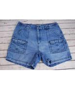 Boca Classics Elastic Cargo Jean Shorts - Size 38 - $12.60