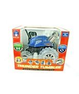 Thunder Tumbler Blue Radio Control Remote 360 Rally Car LED Lights NEW b... - $30.69