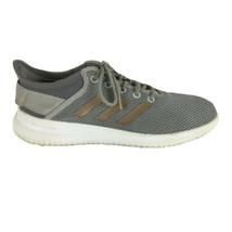 Adidas Womens Cloudfoam QT Flex Running Shoes Size 7.5 Gray - $26.99