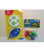 "Kids BOYS PLAY SETS Jaru ""Fun With Bugs"" 5 Pack & 4"" Foam GAME BALL STAM... - $4.34"